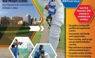 Cricket coaching at MSB Private School, Al Nahda 2, Dubai