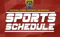 Desert Cubs Activity Plan from 6th to 11th September 2019