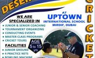 Cricket Coaching at Uptown International School