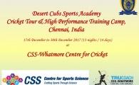 Cricket Tour of Chennai - Dec 2017