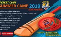 Desert Cubs Cricket Summer Camp 2019